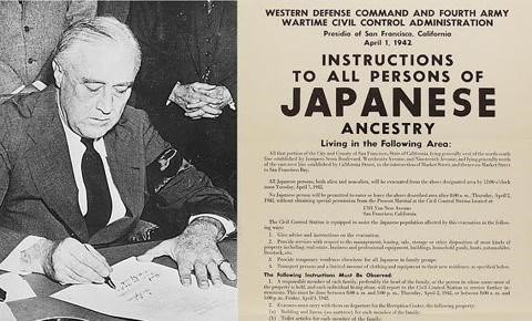 FDR Signs 9066