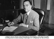 J. Edgar Hoover 1942