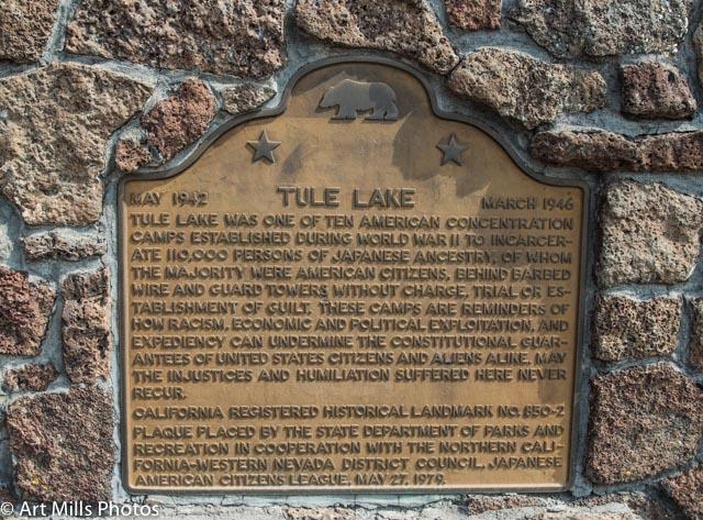 TuleLake State Marker 02