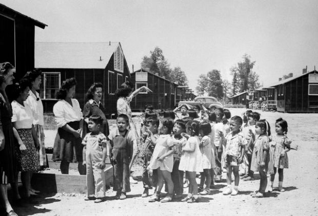 WWII US Internment 1945
