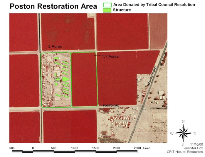 Poston Restoration Area
